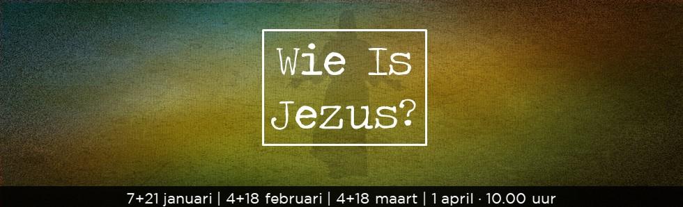 Themaserie: Wie is Jezus? - De Brug Eindhoven